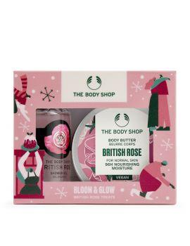 Dárková sada British Rose Treats