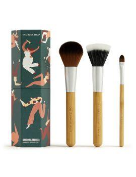 Dárková sada štětce na make-up Bamboo & Baubles