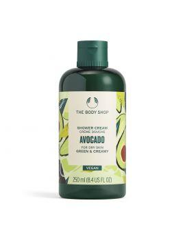 Krémový sprchový gel Avocado