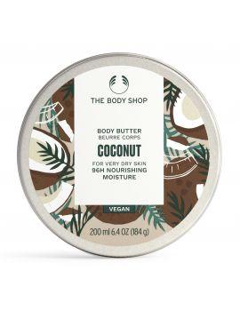 Tělové máslo Kokos