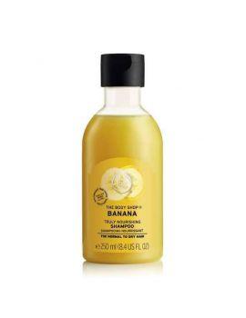 Výživný vlasový šampon Banán