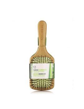 Velký bambusový kartáč na vlasy
