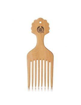 Přírodní hřeben na zkroucené vlasy