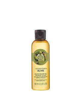 Suchý tělový olej Oliva